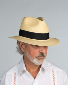 Safari Style Panama Hat in Natural from Scalia